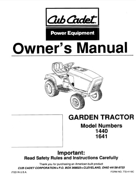 Cub Cadet Collectors Dot Com  U2022 Downloads